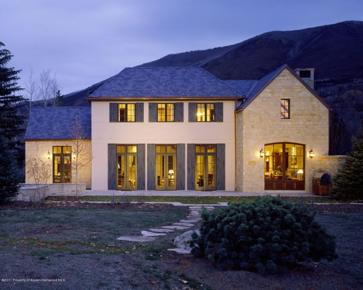 71 best images about aspen million dollar homes on for Elegant country homes