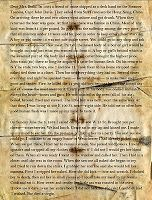 Albert Fish letter to family of the daughter he killed, then ate.  His letter detailed the smallest events of the killing