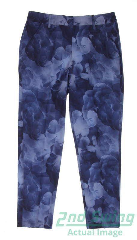 New Womens Puma Bloom Golf Pants Size 4 Peacoat MSRP  90  e1683ed44e