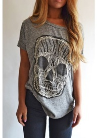 I have this shirt - love love love anything skull!