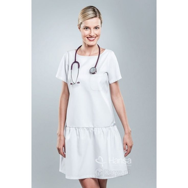 Sukienka Medyczna Hansa 0207 - www.Dersa.pl