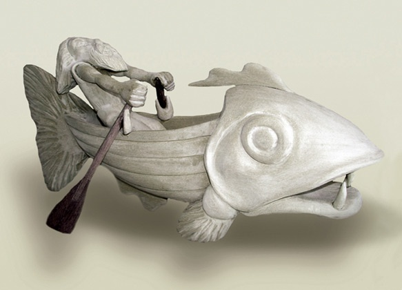 Another amazing piece my Terry Barclay.    'Jonah'