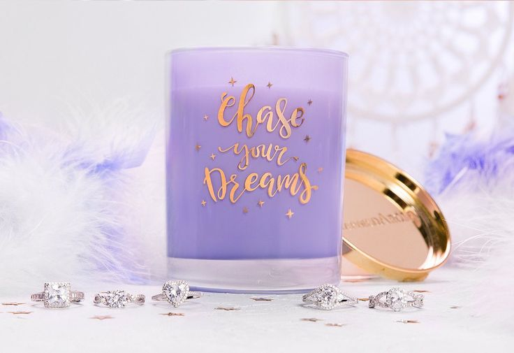 'Chase Your Dreams' - Vanilla Orchid Candle – Charmed Aroma