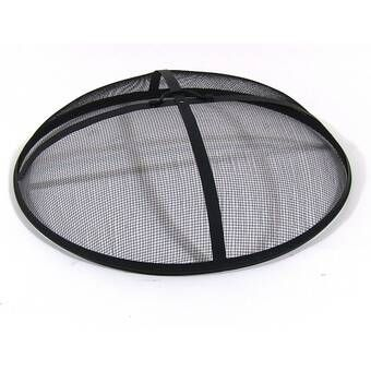 Fire Pit Replacement Fire Bowl | Fire pit screen, Fire pit spark screen, Fire pit cover