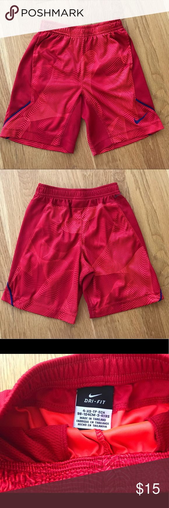 ♨️JUST IN♨️ ✔️Boys- NIKE Shorts NWOTS. Dri-fit Nike shorts with pockets. Nike Bottoms Shorts