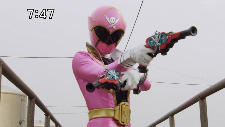 Pink Super MegaForce Power Ranger | Power Rangers | Pinterest