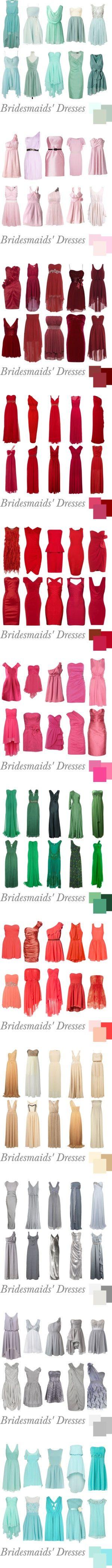 """Bridesmaids' Dresses""cute"