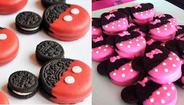 Galletas fáciles de Mickey y Minnie ¡sin cocinar!