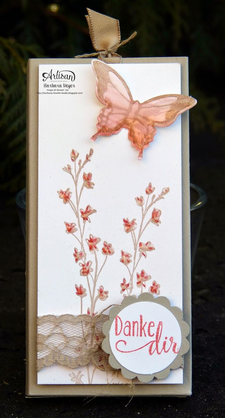 Barbara's creative studio: sweet temptation ... This is the Nature's Perfection stamp set from Sale-A-Bration but not from the USA. Beautiful none the less.