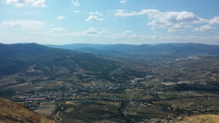View from Acrocorinth