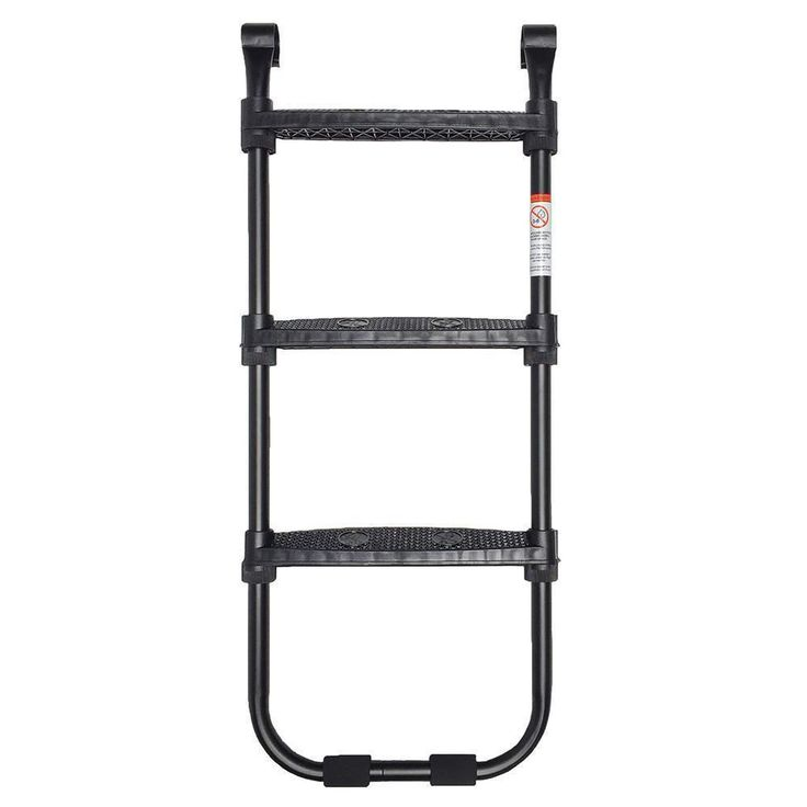 skybound trampoline ladder recommended for trampolines with a frame height of 35 to 40 inches the skybound trampoline ladder is the perfect way to get
