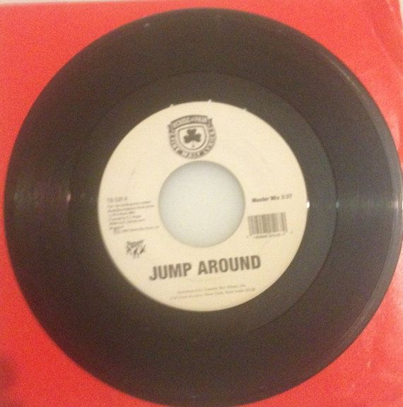 House of pain jump around jump around hip hop 45 vinyl for House music records