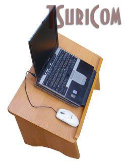 Столик для ноутбука для работы лежа фото 1