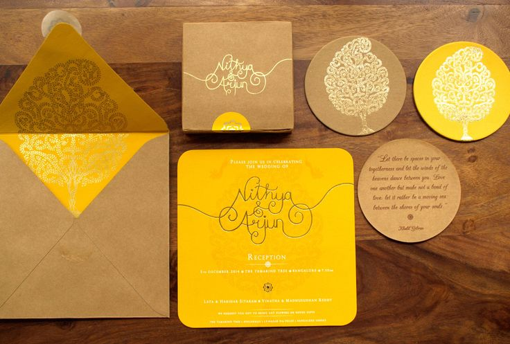Meet Nithya of The Ochre Shed | Wedding Invites | Marigold Tales | South Indian Wedding Blog