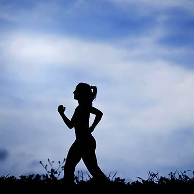 1st tip for long runs during dark winter days: Stay visible. #cardio #running #fitness | Health.com