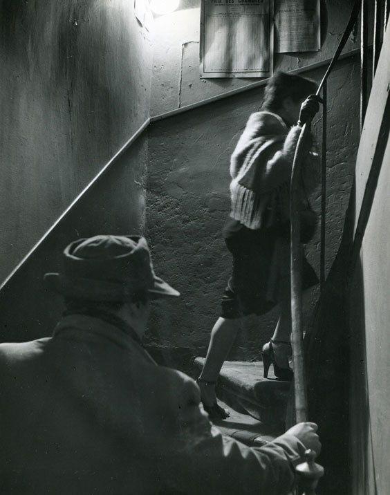 Robert Doisneau, <em>The Stairway,</em> 1952.