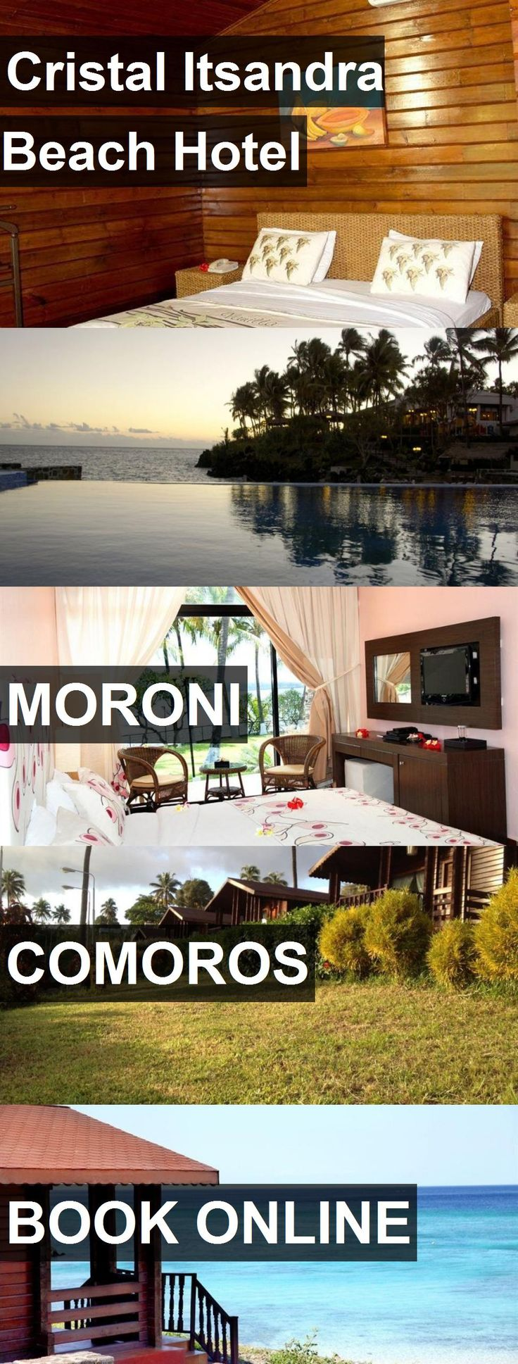 Hotel Cristal Itsandra Beach Hotel in Moroni, Comoros. For more information, photos, reviews and best prices please follow the link. #Comoros #Moroni #CristalItsandraBeachHotel #hotel #travel #vacation