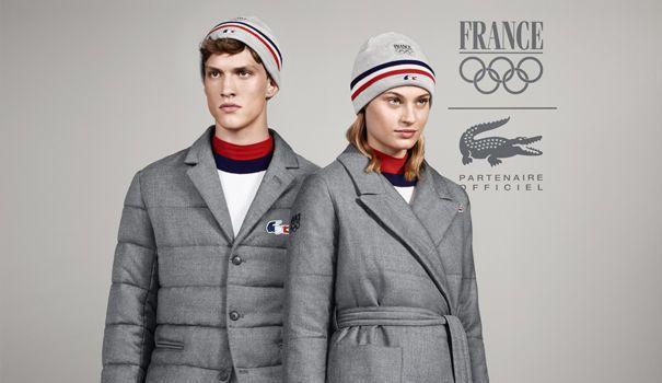 Lacoste habillera l'équipe de France aux Jeux Olympiques de Sotchi