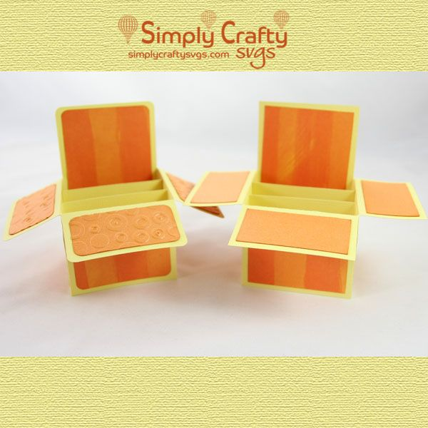 Basic A2 Box Card Svg File Simply Crafty Svgs Card Box Svg Free Files Pop Up Box Cards