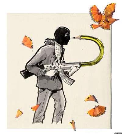 Best Charlie Hebdo Images On Pinterest - 24 powerful cartoon responses charlie hebdo shooting