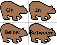 Language activities to use with We're Going On A Bear Hunt