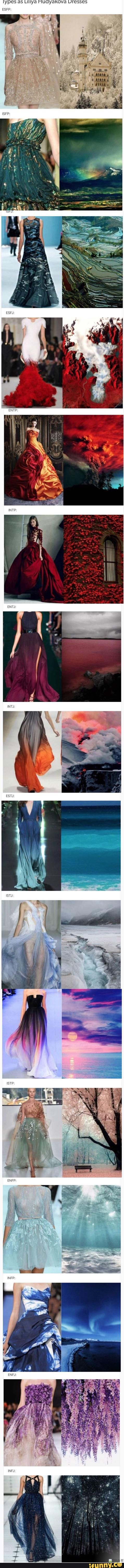 tumblr, mbti// I'm very particular when it comes to dresses but I actually really like my type's dress - INFJ
