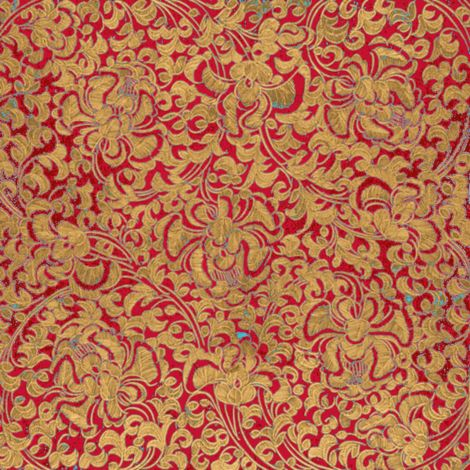 A rich pattern for upholstery and curtains.  Will also make splendid bags and totes.