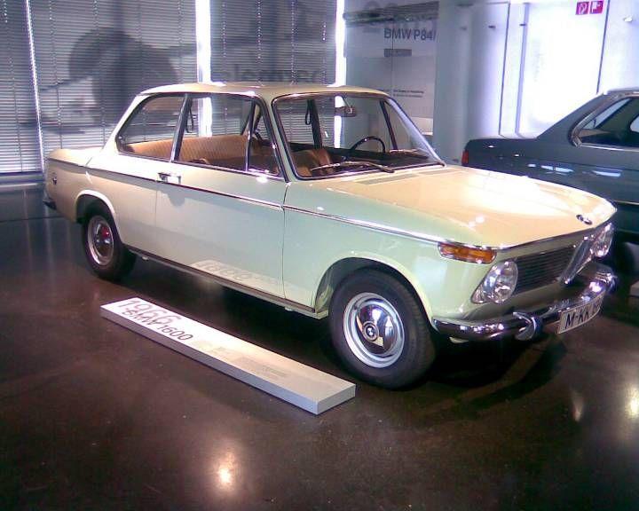 BMW 1600-2, BMW museum Munchen