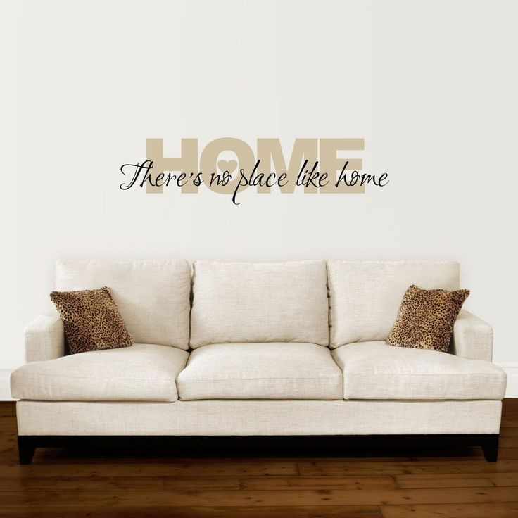 Home Wall Decal   Thereu0027s No Place Like Home Decal   Wizard Of Oz Wall Quote