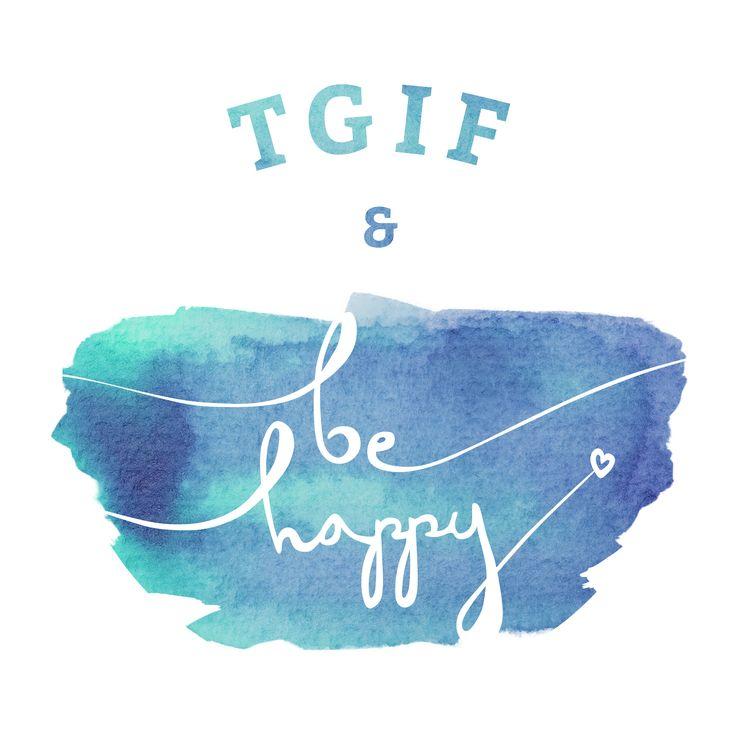 #tgif #friday #weekend #yeah #happy #finally