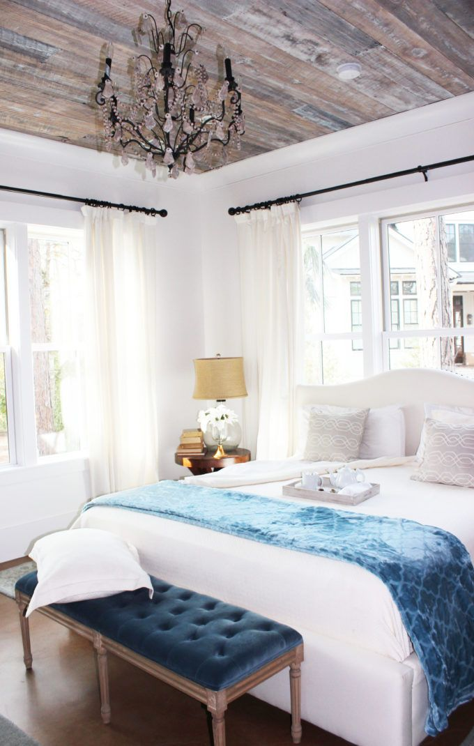WINTER HOME TOUR / Home Decorating Ideas For Winter   Love This Bedroom!