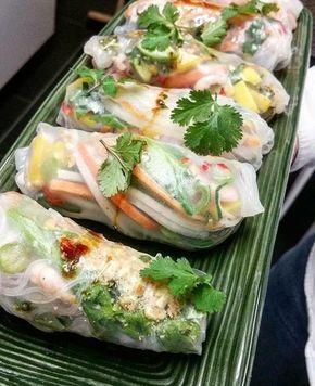 Det här är bara för gott! Så fräscht och hälsosam mat verkligen, ni måste testa :) Mina vietnamesiska vårrullarpassar till vardags och fest. Det bästa är att man kan fylla dom med vad...