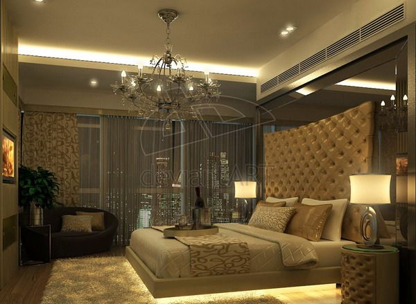 Modern Classic Bedroom Design By Red Brent