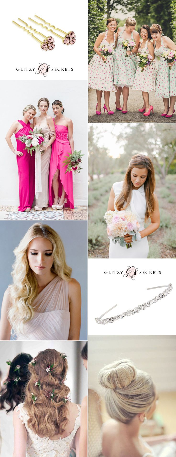 229 best beautiful bridesmaids images on pinterest wedding beautiful hairstyles for your bridesmaids on gs inspiration glitzy secrets ombrellifo Choice Image