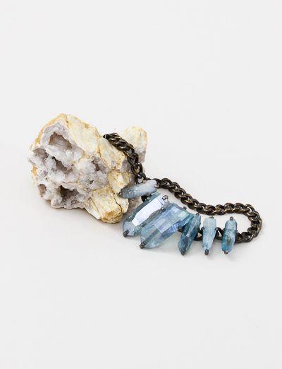 Unearthen Aquarii necklace.