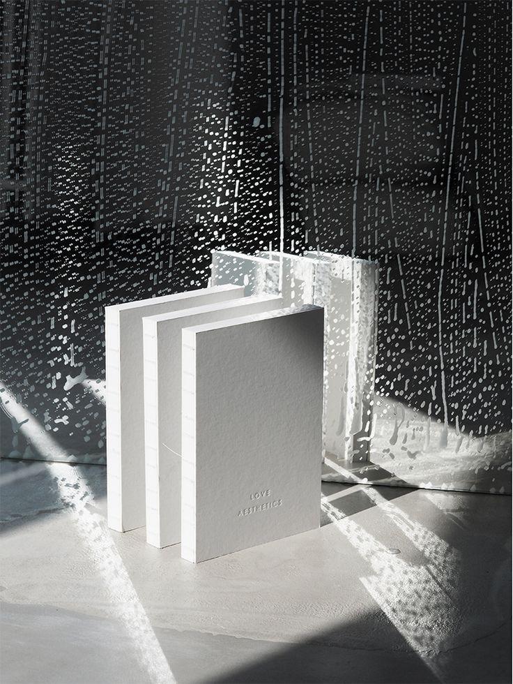 Soapy visual Story / Aetelier 'Blank Books' / by Ivania Carpio via Love Aesthetics