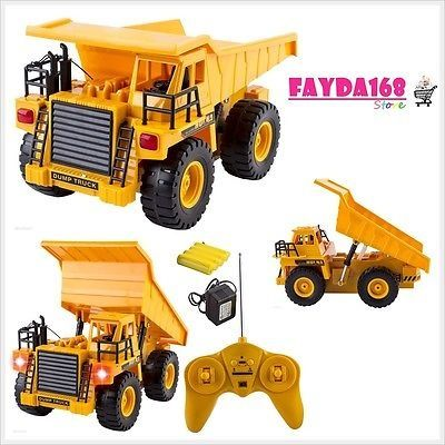 awesome BRAND NEW Full Functional Dump Truck Toy Car Vehicle Electric RC Remote Control - For Sale Check more at http://shipperscentral.com/wp/product/brand-new-full-functional-dump-truck-toy-car-vehicle-electric-rc-remote-control-for-sale/