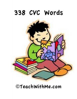Great list of cvc words.