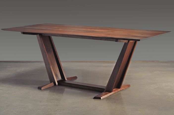 Leaning Trestle   Eben Blaney - Fine Contemporary Furniture