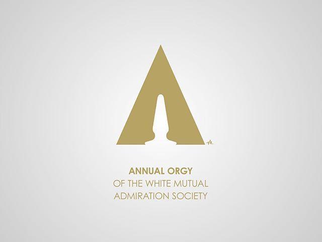 Honest Logos, pt. III. #7/12. #adbusting #parody #logo #logodesigns #graphicdesign #satire #viktorhertz #theoscars #oscar #oscars #whitewash #whitewashing #orgy #buttplug #academyawards