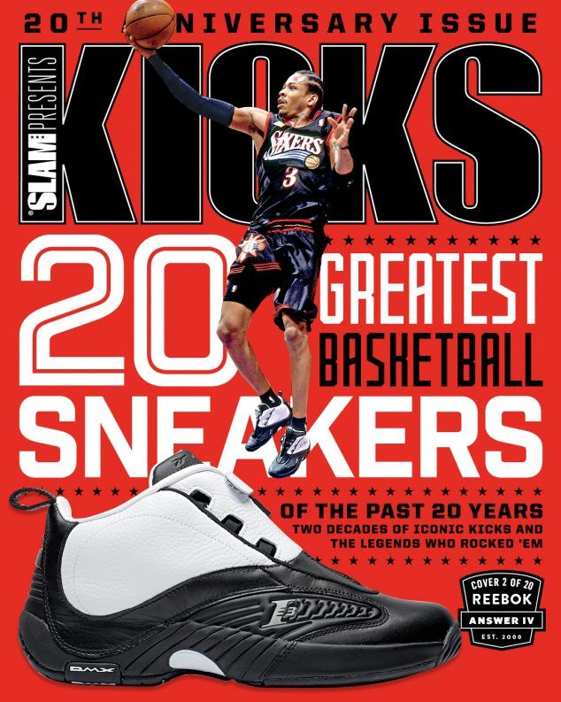 Top 20 Basketball Sneakers of the Past 20 Years: Reebok