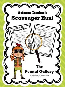 Get students looking through their science textbooks as soon as you distribute them with this social studies textbook scavenger hunt activity. It's a great back to school activity! ($)