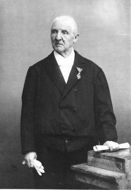 Anton Bruckner (1824-1896), photograph (1886), by Anton Huber (1853-1936).