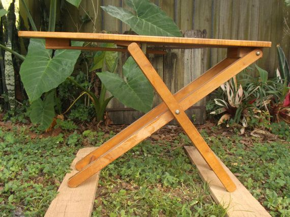 Community Playthings Wooden Toy Ironing Board Midcentury Style Maple Heirloom #Community