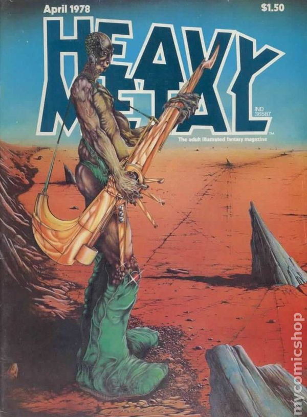 Heavy Metal Magazine (1977) 13