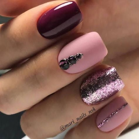 Here are 30+Simple And Easy Cute Nail Art Ideas You Will Love Making you Skip a Heartbeat! #nailart
