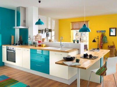 Funky, πολυχρωμες κουζίνες για ξέφρενα μαγειρέματα! | Small Things