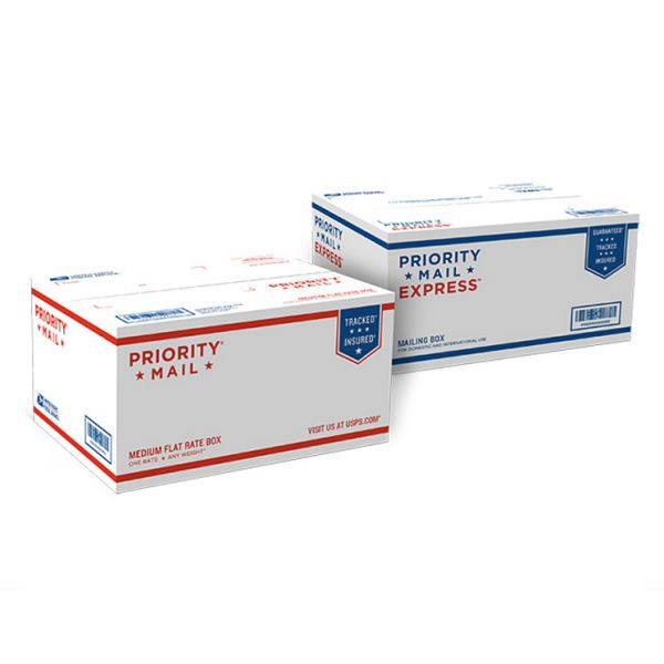Dual Use Priority Mail Express Box 1 Usps Com Free Boxes