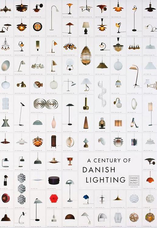 A Century of Danish Lighting - poster