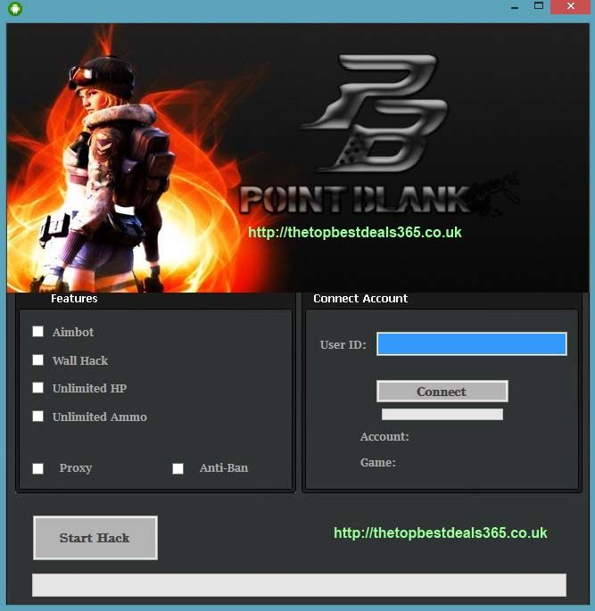 Point Blank Hack Tool 2014